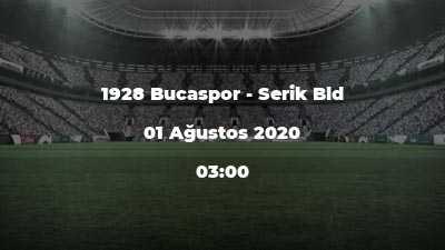 1928 Bucaspor - Serik Bld