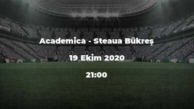 Academica - Steaua Bükreş