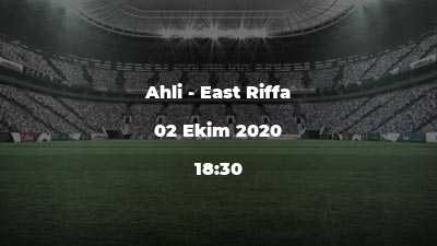 Ahli - East Riffa