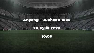 Anyang - Bucheon 1995