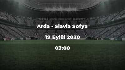 Arda - Slavia Sofya
