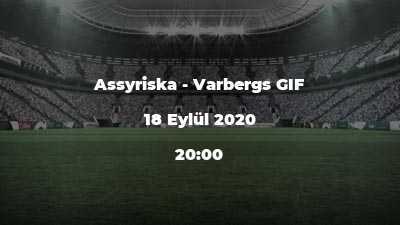 Assyriska - Varbergs GIF