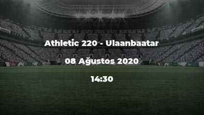 Athletic 220 - Ulaanbaatar
