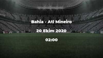 Bahia - Atl Mineiro