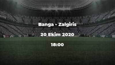 Banga - Zalgiris