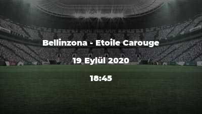Bellinzona - Etoile Carouge