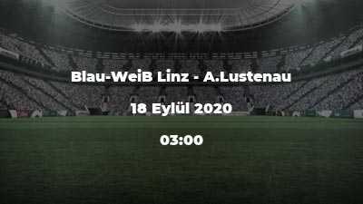 Blau-WeiB Linz - A.Lustenau