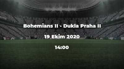 Bohemians II - Dukla Praha II