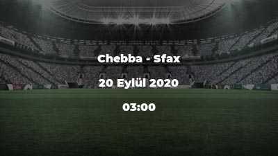 Chebba - Sfax