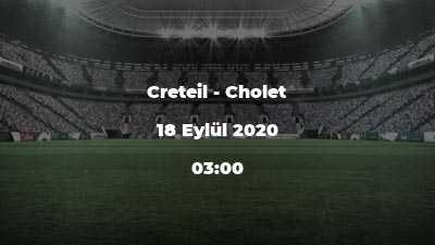 Creteil - Cholet