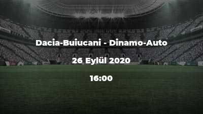 Dacia-Buiucani - Dinamo-Auto