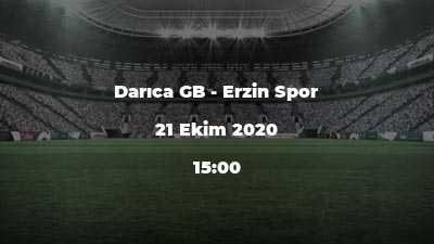 Darıca GB - Erzin Spor