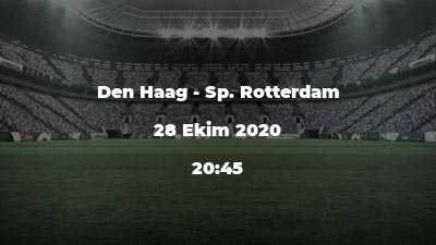 Den Haag - Sp. Rotterdam