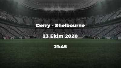 Derry - Shelbourne