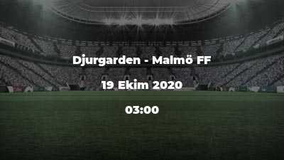 Djurgarden - Malmö FF