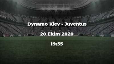 Dynamo Kiev - Juventus