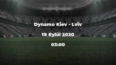 Dynamo Kiev - Lviv