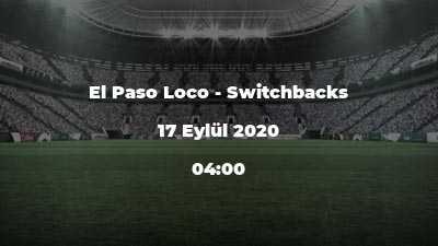 El Paso Loco - Switchbacks