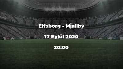 Elfsborg - Mjallby