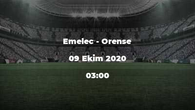 Emelec - Orense