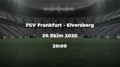 FSV Frankfurt - Elversberg
