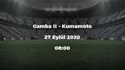 Gamba II - Kumamoto