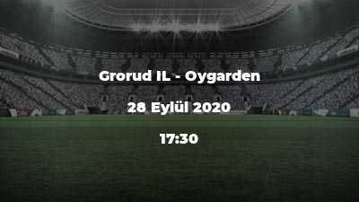 Grorud IL - Oygarden