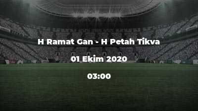 H Ramat Gan - H Petah Tikva