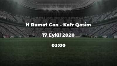 H Ramat Gan - Kafr Qasim