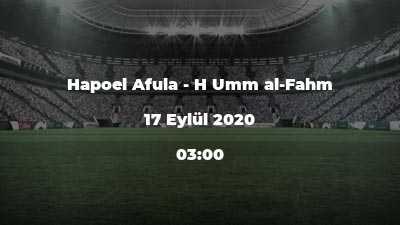 Hapoel Afula - H Umm al-Fahm