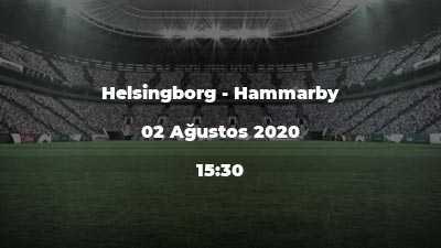Helsingborg - Hammarby