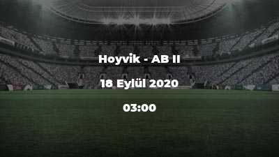 Hoyvik - AB II