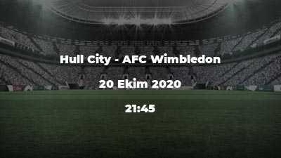 Hull City - AFC Wimbledon