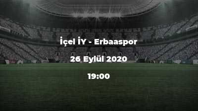İçel İY - Erbaaspor