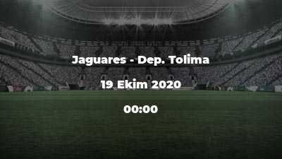 Jaguares - Dep. Tolima
