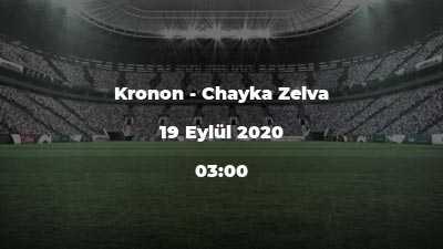 Kronon - Chayka Zelva