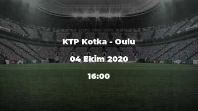 KTP Kotka - Oulu