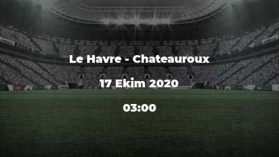 Le Havre - Chateauroux