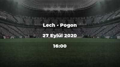 Lech - Pogon