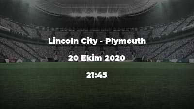 Lincoln City - Plymouth