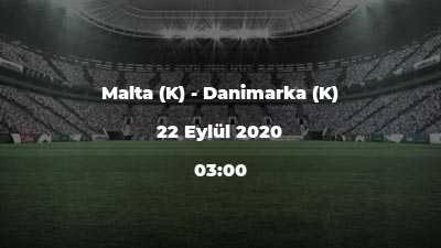 Malta (K) - Danimarka (K)