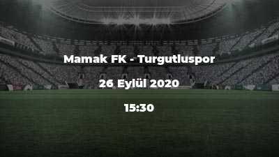 Mamak FK - Turgutluspor