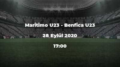 Maritimo U23 - Benfica U23