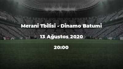 Merani Tbilisi - Dinamo Batumi