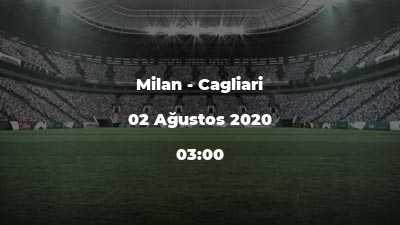 Milan - Cagliari