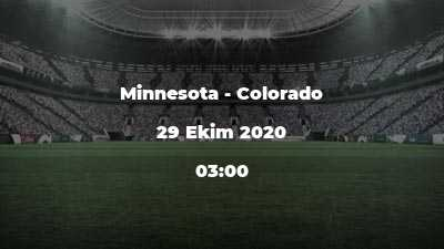 Minnesota - Colorado
