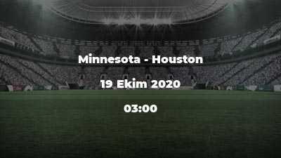 Minnesota - Houston