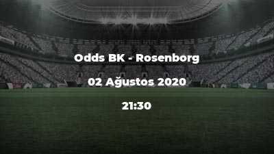 Odds BK - Rosenborg