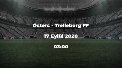 Östers - Trelleborg FF