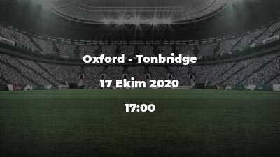 Oxford - Tonbridge